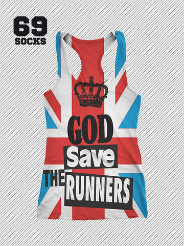 69Tank God Save The Runners All over