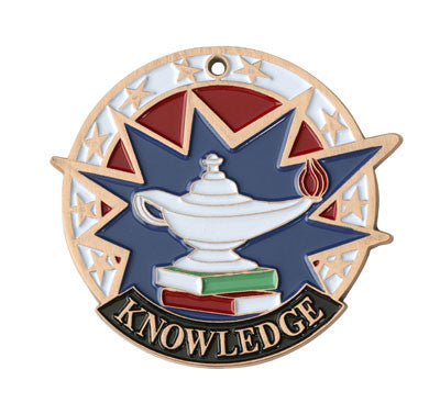"Lamp of Knowledge USA Sport Medal, 2"" in bronze"