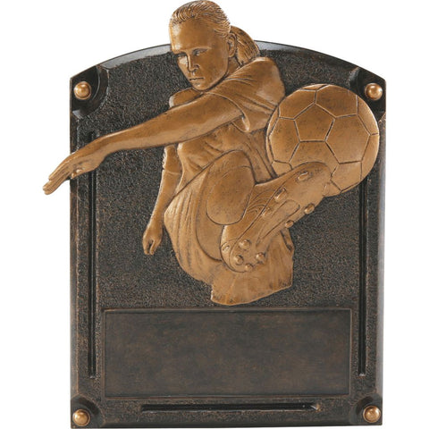 Soccer, Female, Legends of Fame Resin