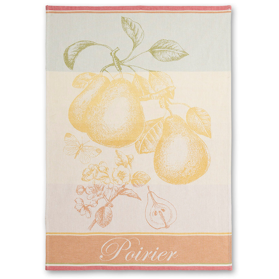 Poirier (Pear Tree) French Jacquard Dish Towel by Coucke