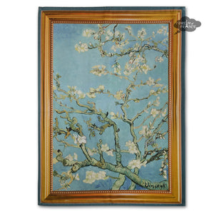 Van Gogh Almond Blossom French Kitchen Towel by Marat d'Avignon