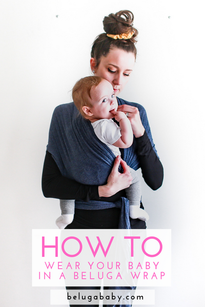 How To Use A Baby Wrap: Simple Step by Step Instructions (with pictures!)