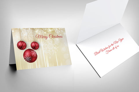 Christmas Card Design F