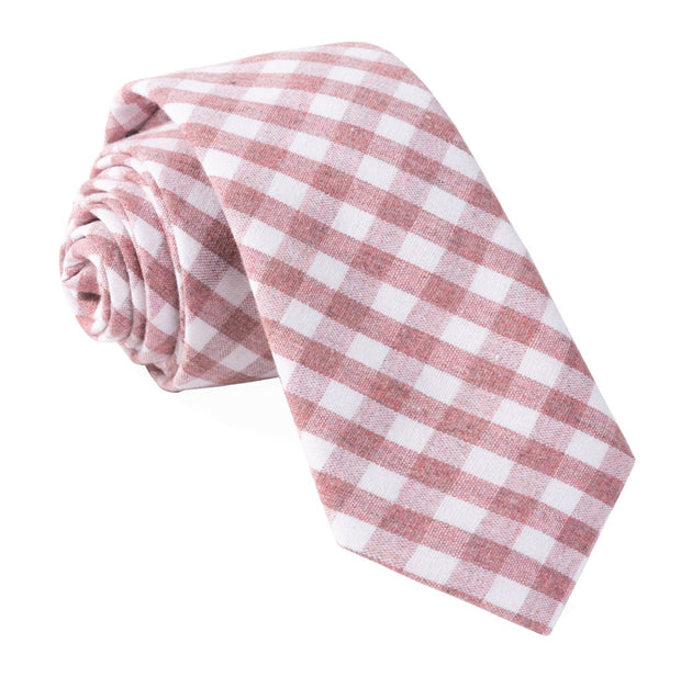Raspberry Yacht Checks Tie