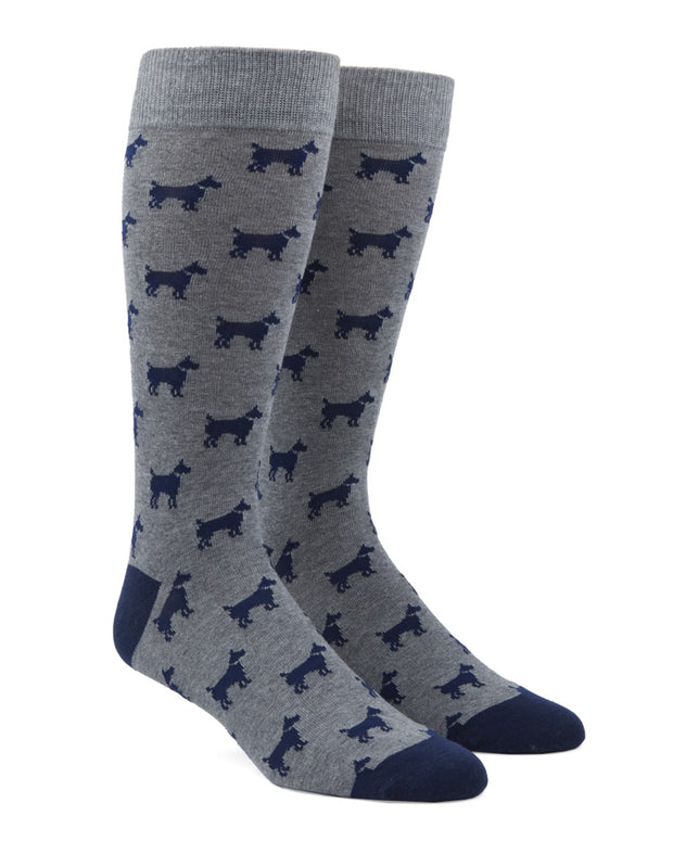 Navy Dog Days Socks
