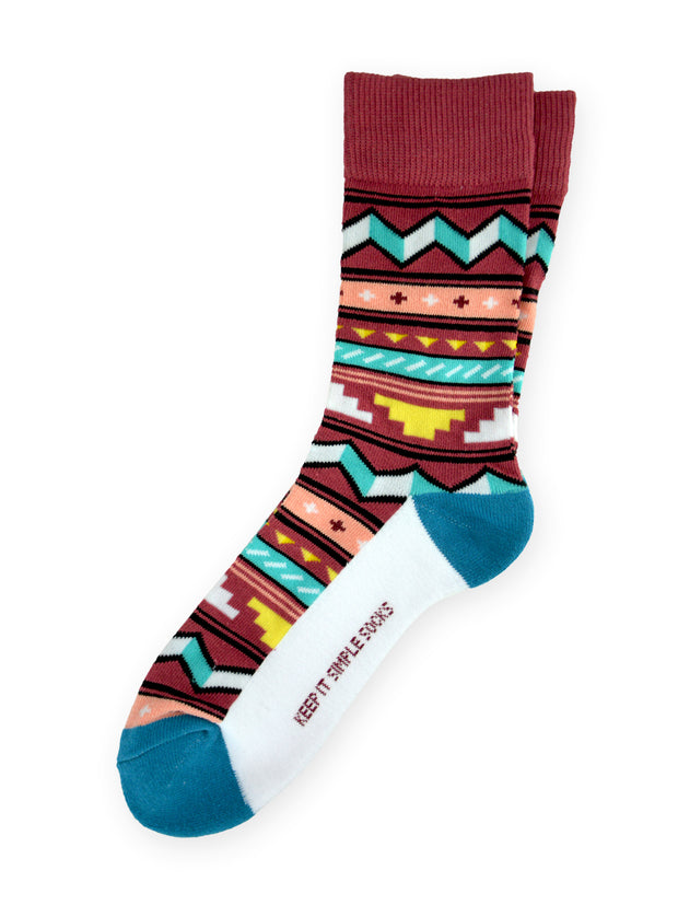 Keep It Simple Geometric 2.0 Socks