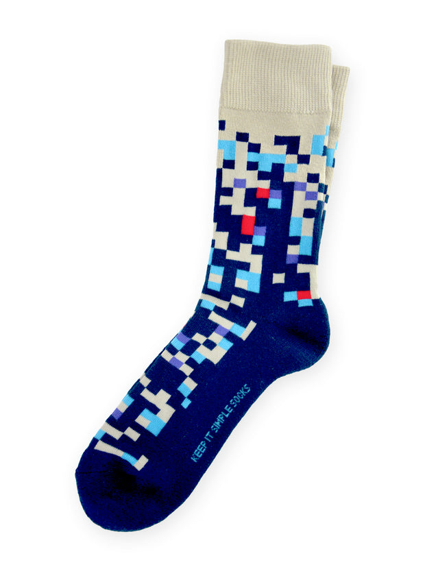 Keep It Simple Pixelated 2.0 Socks