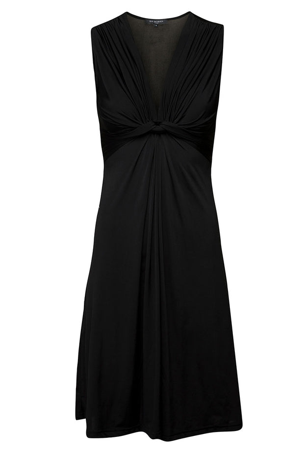 Emma 02 Dress | Black | Kort kjole fra ILSE JACOBSEN