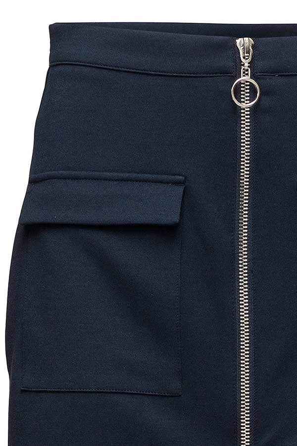 Marly skirt | Navy | Nederdel fra Freequent