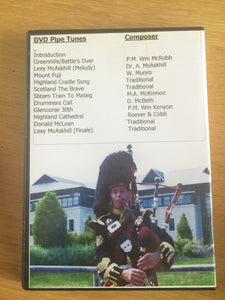 DEMO ITEM Glencorse Pipe Band DVD