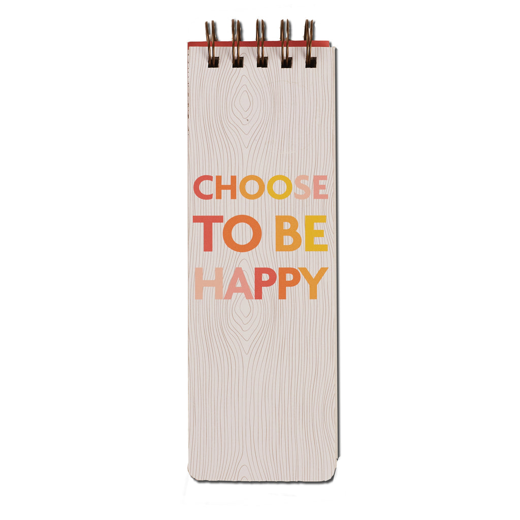 choose to be happy: daily to-do jotter