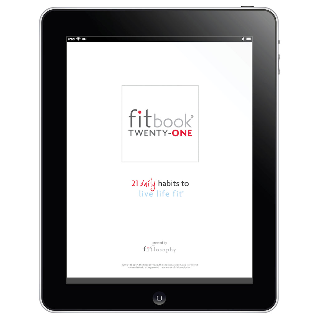 fitbook twenty-one: daily healthy habit change program for 21 days