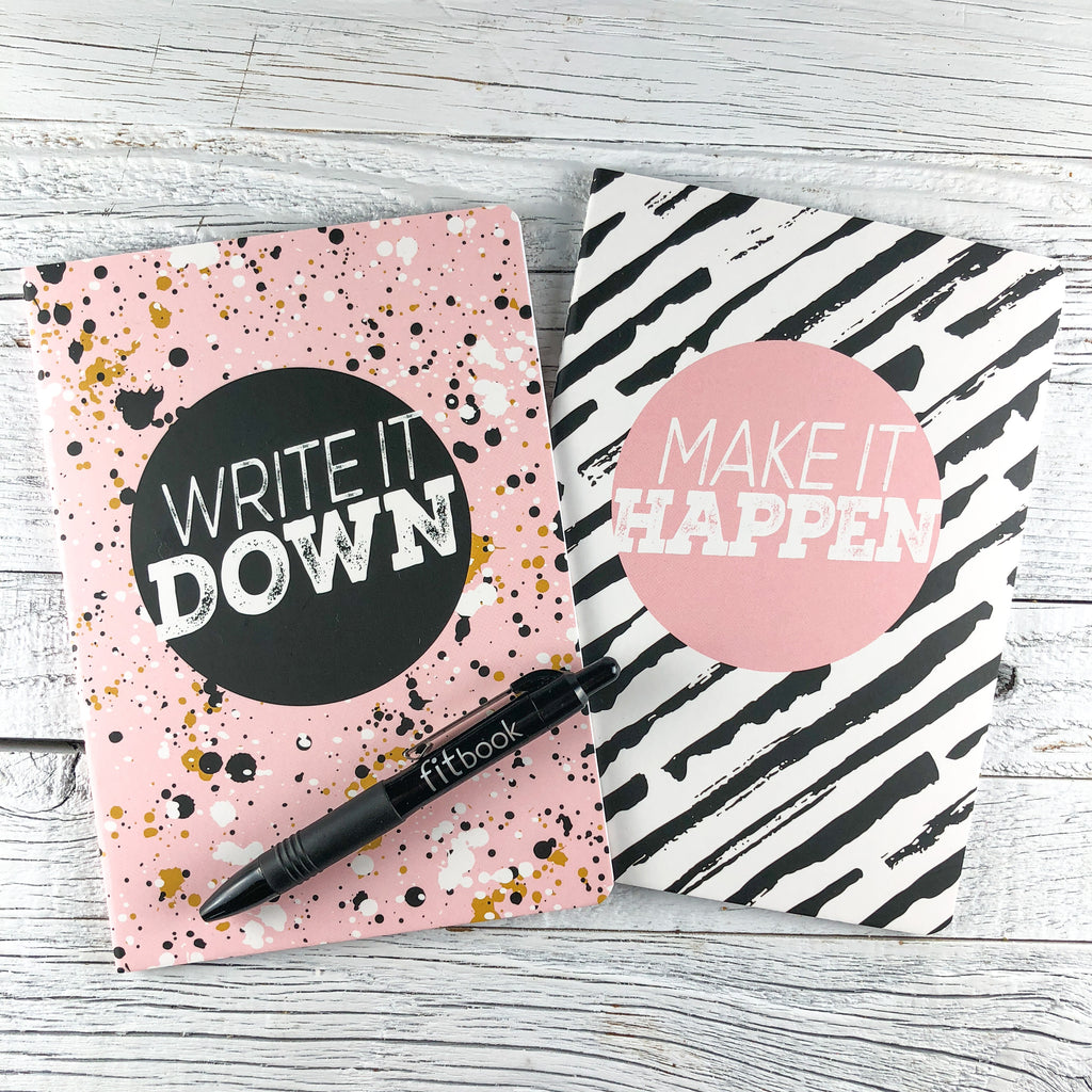 noteable journal set: write it down and make it happen