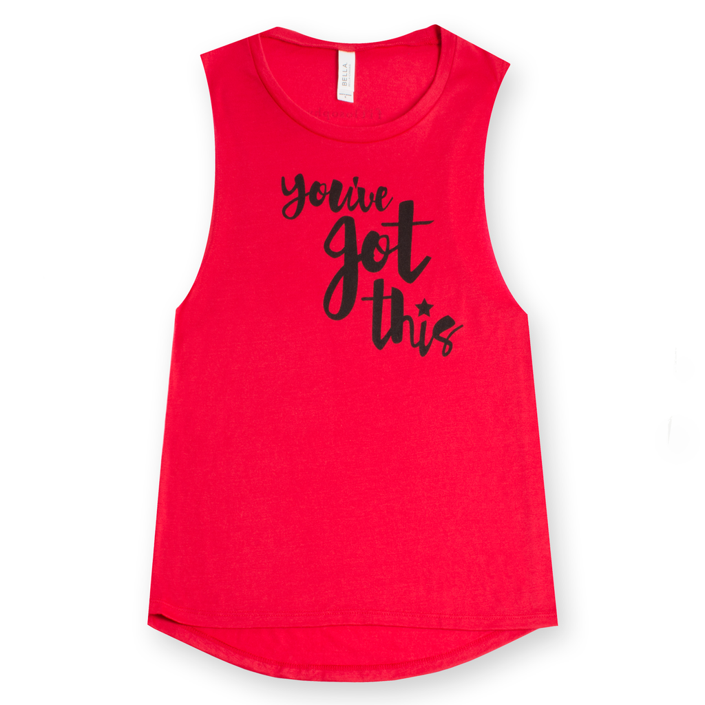 you've got this: flowy muscle tank