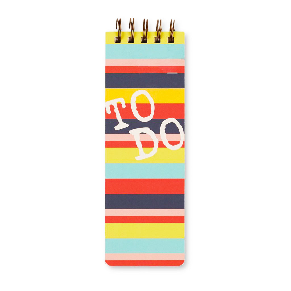 bright stripe: daily to-do jotter