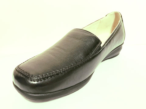 "Sally 1"" (2.5cm) Dr Keller Wedge Flat Shoe"