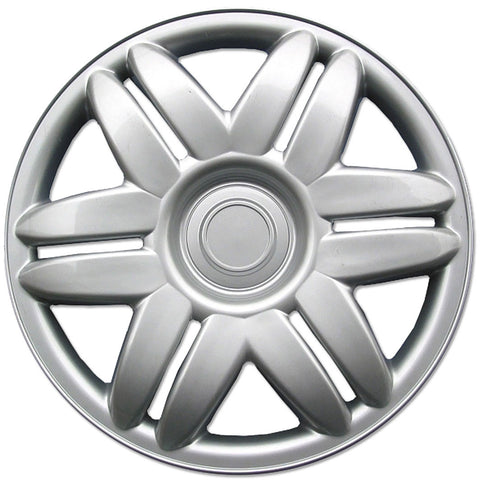 BDK 2000-2001 Toyota Camry Replica Hubcaps - Full Set 4 Pieces - Silver Finish