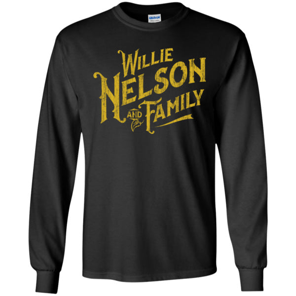 Willie Nelson and Family Long Sleeve