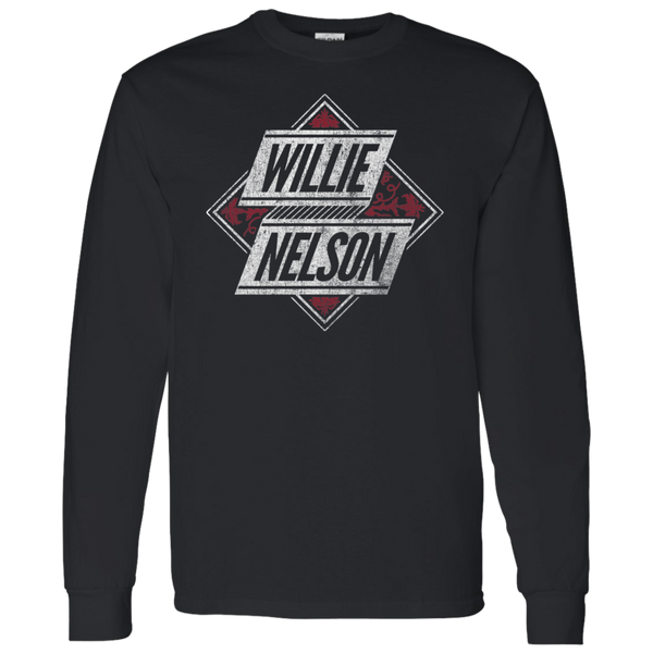 Willie Nelson Vintage Logo Long Sleeve