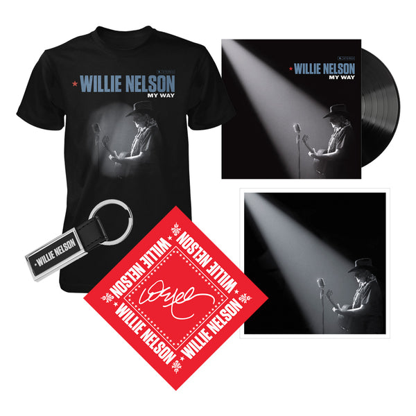 Willie Nelson My Way LP Fan Bundle