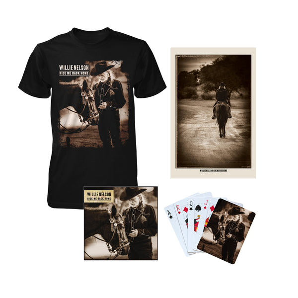 Ride Me Back Home Exclusive Bundle (CD)