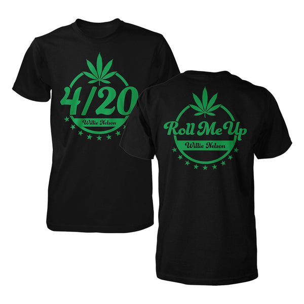Roll Me Up 4/20 Tee