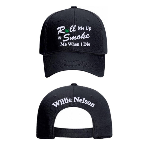Official Willie Nelson Roll Me Up Hat