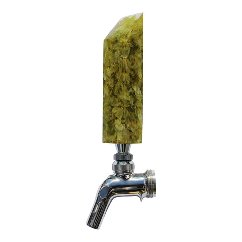 """Drink The Rainbow"" Beer Tap Handle - Hops"