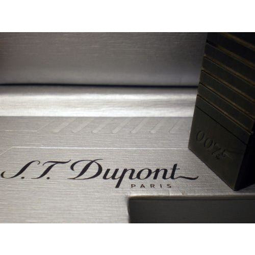 S.T. Dupont  James Bond 007 Jeroboam  PVD Gun Metal Table Lighter new in box