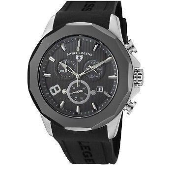 SWISS LEGEND Men's Monte Carlo Chronograph Wrist Watch Model 10042-014-GMB
