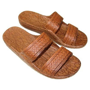 Imperial Import Brown Slide Unisex Slippers