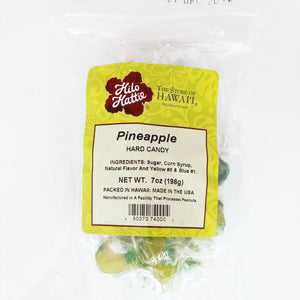 Hilo Hattie Pineapple Hard Candy 7oz.