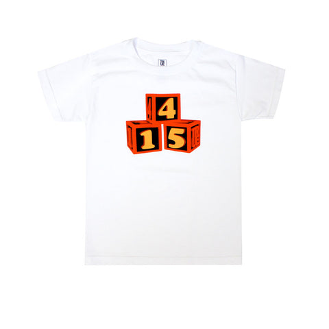 Kids True 415 Blocks T-Shirt White