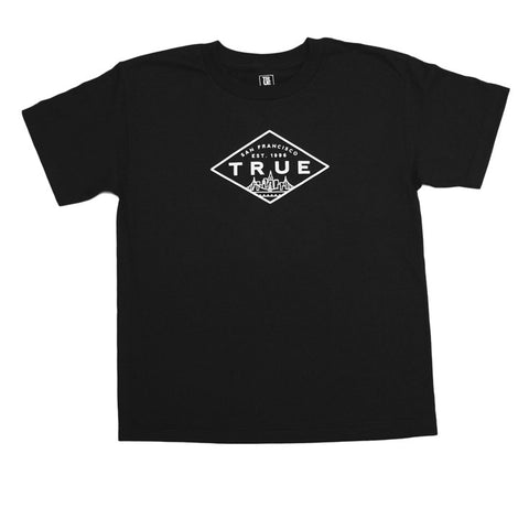 Kids True Established T-Shirt Black
