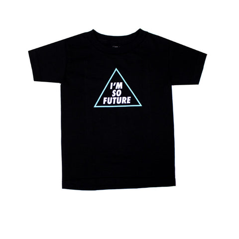 Kids True Future T-Shirt Black