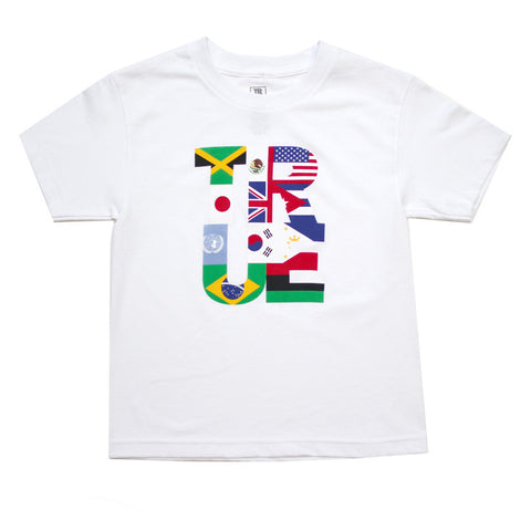 Kids True Nations T-Shirt White