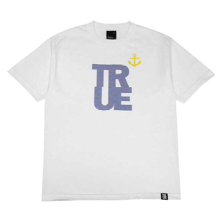 Mens True Nautical T-Shirt White - Shop True Clothing