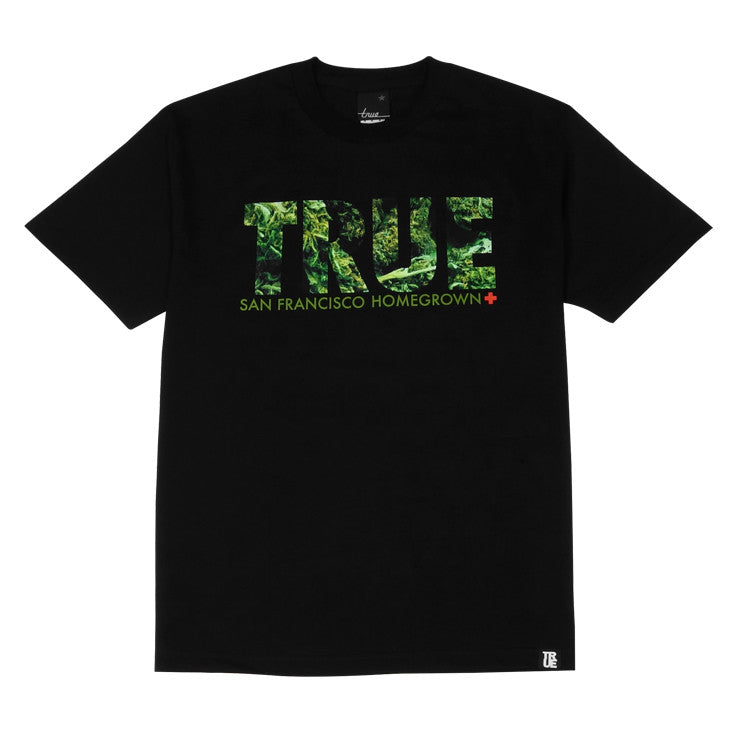 Mens True Weed T-Shirt Black - Shop True Clothing