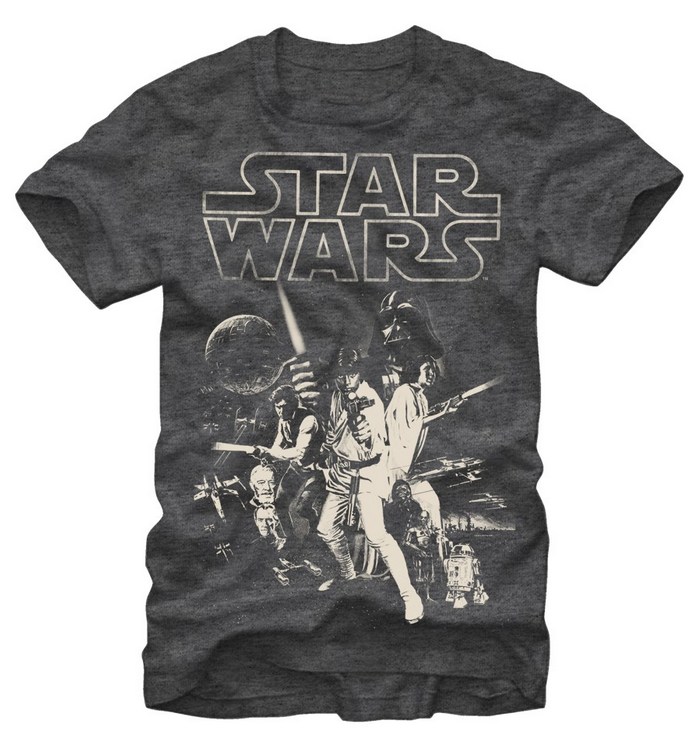 Star Wars: Classic Poster T-Shirt - First Person Clothing