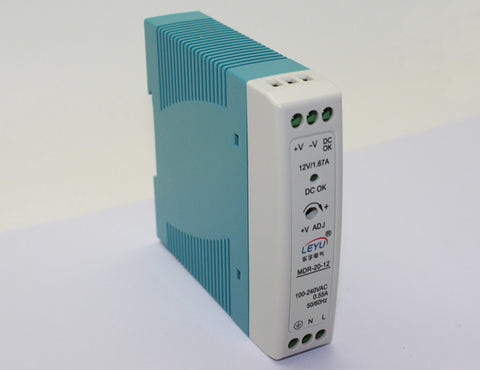 20w 24v 1a DC DIN Rail switched mode power supply smps