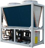 Water chiller and hot water heat pump, air cooled refrigeration unit.