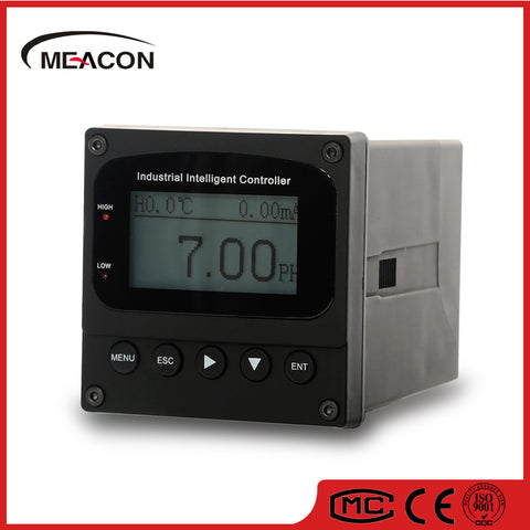 This industrial pH controller / meter is suitable for Hydroponics and hydroculture, water quality and wastewater measurements.