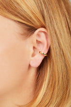 Load image into Gallery viewer, Simple gold vermeil large ear cuff