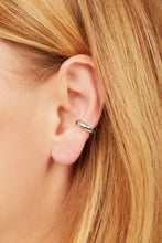 Load image into Gallery viewer, Simple sterling silver medium ear cuff