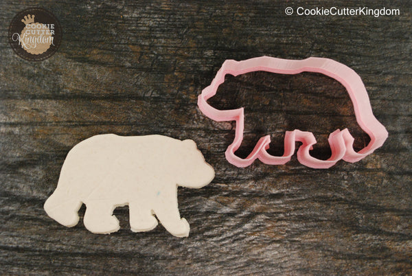 Polar Bear Animal Cookie Cutter