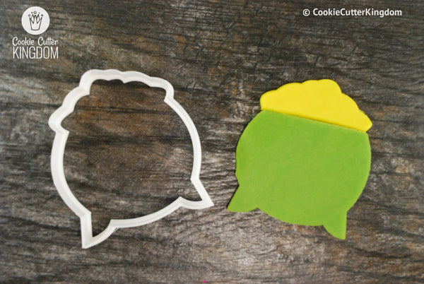 Pot of Gold Cookie Cutter