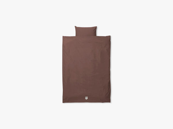 Hush Bedding - Junior Set, Cognac fra Ferm Living