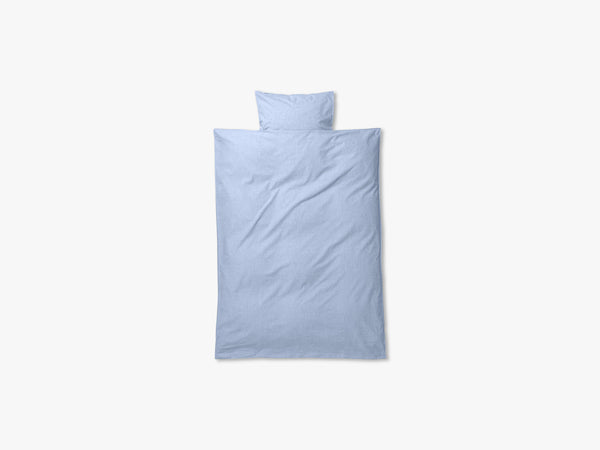 Hush Duvet Cover, Light Blue fra Ferm Living