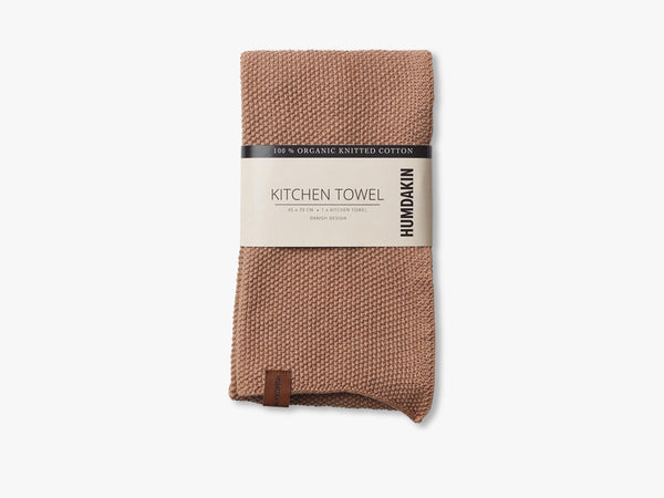 Knitted Kitchen Tea Towels, Latte fra HUMDAKIN