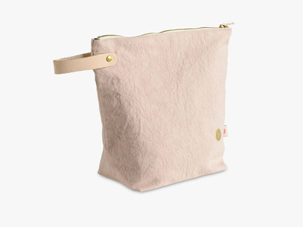 IONA Large Toiletry Bag, Biscuit fra La Cerise Sur Le Gateau